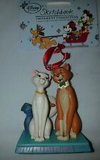 Aristocats O'Malley Disney store Sketchbook ornament Christmas decoration