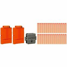 New NERF N-Strike FLIP CLIP Refill ~ 30 Clip System Darts & 2 Quick Reload Clips