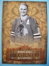 "2008-09 Upperdeck Artifacts ""Legends"" # 138 Bobby Hull!"