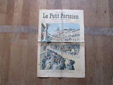 JOURNAL PETIT PARISIEN 796 8 mai 1904 voyage president  francais en italie