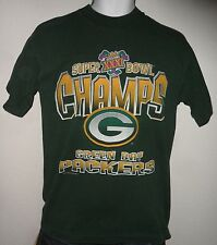 Real Deal VINTAGE ORIGINAL 1997 GREEN BAY PACKERS NFL SUPER BOWL T SHIRT L