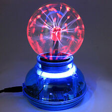 Lightning Magic Crystal Ball Lamp USB Interface Voice Control Plasma Ball