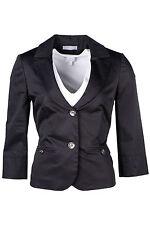 Damenblazer Abendblazer 40 Jacke Bolero Business Kostüm schwarz apart 850062 777