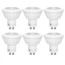 6pack 5W MR16 GU10 LED Recessed Track Light Bulb 400lm 38° Spot Beam Warm White