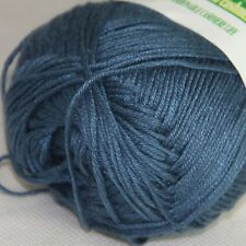 Sale New 1 Ball x50g Super Soft Bamboo Cotton Baby Hand Knitting Crochet Yarn 25