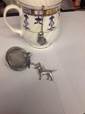Bull Terrier  2inch Tea Ball Mesh Infuser Stainless Steel Sphere Strainer D23