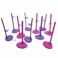 10Pcs Doll Toy Stand Support Prop Up Mannequin Model Holder For Barbie ACCES