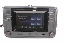MIB 2 RCD510 Autoradio,Bluetooth,CD,USB,RVC,AUX,VW Golf 5,6 Tiguan,Caddy,Polo,