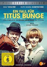 Ein Fall für Titus Bunge * DVD Serie Ruth Maria Kubitschek Ralf Wolter Pidax Neu