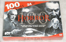 Horror Classics - 100 Movies - Bela Lugosi Lon Chaney Vincent Price DVD Box Set
