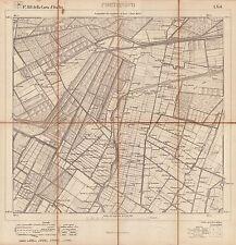 PORTONOVO di Medicina,Conselice,Consandolo di Argenta. Carta Geografica.IGM.1892