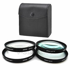 49mm Macro Close-Up +1 +2 +4 +10 Filter Kit for Sony  NEX-3 NEX-5