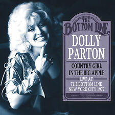 DOLLY PARTON New Sealed 2016 UNRELEASED LIVE 1977 NEW YORK CITY CONCERT CD