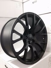 "4 NEW Dodge SRT Hellcat 20"" Matte Black Wheels OE 20x9 Charger Challenger 300"