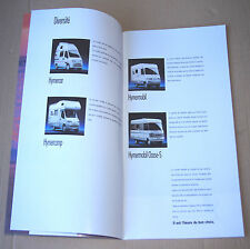 1995 HYMER/CAR HYMER/CAMP HYMER/MOBIL classe-S ✿ BROCHURE CAMPING-CARS ✿