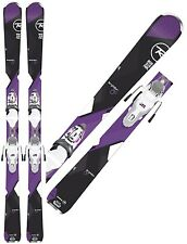 ROSSIGNOL 2017 TEMPTATION 80 144CM WOMEN'S ALL MTN SKIS W/ BINDINGS