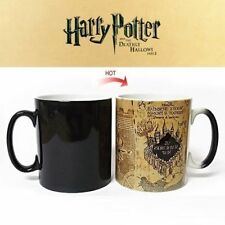 Harry Potter Mug Color Change Coffee Mug Mischief Managed Magic Ceramic Cup Gift