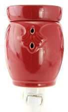 Boulevard Candle Red Deco Fragrance Warmer Electric Tart, Wax Night Light