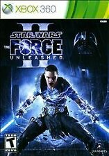 XBOX 360 STAR WARS FORCE UNLEASHED II BRAND NEW VIDEO GAME platinum hits