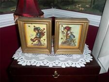 lot of 2 h.i. hummel shaddow BOX PICTURES TIN RAISED NEAT HAND CRAFTED I BELIEVE