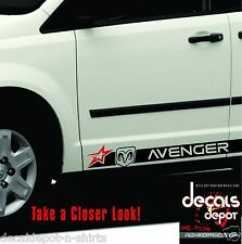 Decal Vinyl Rock Panel Fits DODGE Avenger , 2009, 2010, 2011, 2012, 2013 to 2017