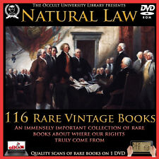 Natural Law Deism Enlightenment Nature Law Common Law Occult Books on DVD