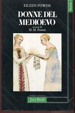 DONNE DEL MEDIOEVO Eileen Power - Jaca Book 1984 2a edizione