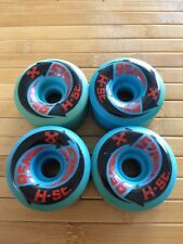 Nos H Street Skateboard Wheels 57mm 95a Duro Vintage