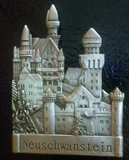 NEUSCHWANSTEIN FRIDGE MAGNET Bavaria Germany Castle 3D Souvenir Refrigerator NEW