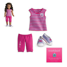 "American Girl MY AG CAMPUS CASUAL OUTFIT for 18"" Dolls Innerstar U Clothes NEW"