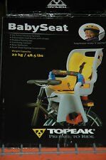 Topeak Bicycle Babyseat II Bike Baby Sitter Seat for Disc Brake Rack Suspension!