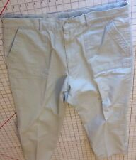 Resilio Sportswear Pants Duck Hunting 100% Cotton Mens 36 Made In Korea Tan Camp