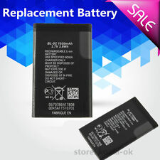 Replacement Rechargeable Li-ion Battery 1020mAh 3.7V 3.8 wh for Nokia BL-5C #A
