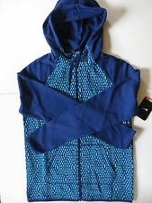 Nike Womens Size S All Time Full Zip Therma FIT Training Scuba Hoodie 715591-407