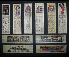 Egyptian Papyrus Bookmarks Set of 10 Wonderfully Illustrated