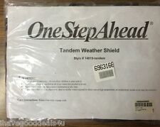 One Step Ahead Tandem Weather Shield For Stroller New In Sealed Package 14819