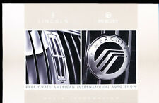 2005 Lincoln Mercury 12-page Brochure with Disc - 2006 Media Kit Zephyr Mark LT