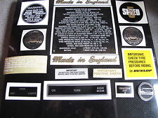 Triumph T140 V 1973-1978 BONNEVILLE Decal Sticker SET