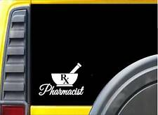 Mortar and Pestle K728 6 inch Pharmacist Sticker decal