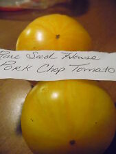 Rare Pork Chop Tomato Seeds! Comb.S/H  Over 600 kinds of seeds in our store!