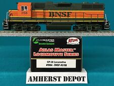 8964 Atlas HO GP 38 BNSF DCC Locomotive  NIB