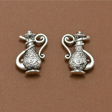 25x Retro style fashion Tibet silver Flagon Kettle Charm Pendant Jewelry Finding