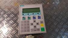 Siemens 6AV3607-1JC20-0AX1 Operator Panel