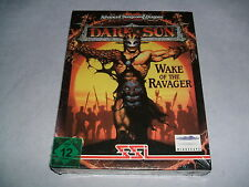 DARK SUN - WAKE OF THE RAVAGER PC DOS CD Version  NEU USK 12