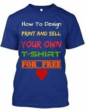 How To Design, Print and Sell Your Own T-Shirts For FREE