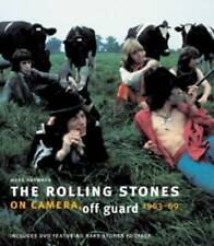 The Rolling Stones: On Camera, Off Guard - HB Book + DVD , rare , new and sealed