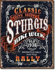 Sturgis Bike Week metal sign  400mm x 320mm   (de)