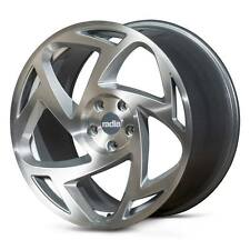 "18"" Radi8 R8S5 Wheels - Matt Silver Machined - VW / Audi / Mercedes - 5x112"