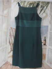 DAVE & JOHNNY Womens Sz 5-6 Green Dress Club/Evening/Cocktail Rayon Blend, Lined