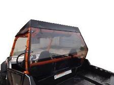 Polaris RZR,and 2011and UpRZR S, Clear Rear  Windshield Hard Panel...1/4 THICK""